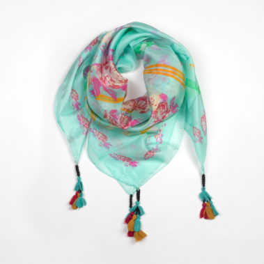 Foulard Peace and Love