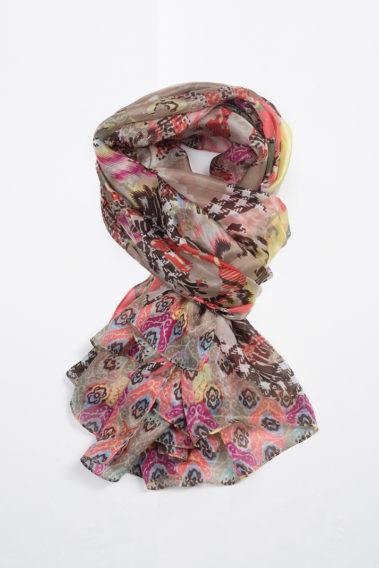 Foulard long en soie
