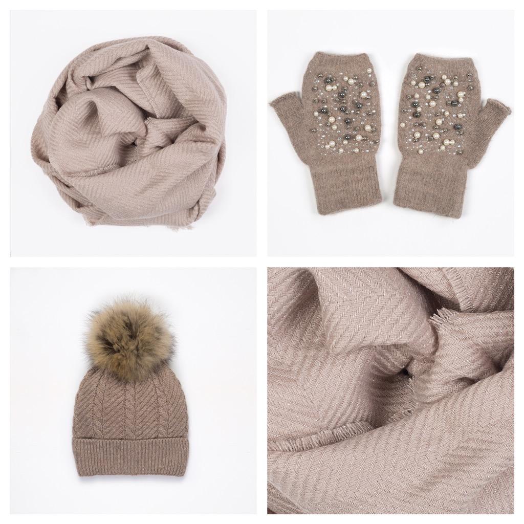 collection de remise ordre détaillant Coffret écharpe bonnet mitaine