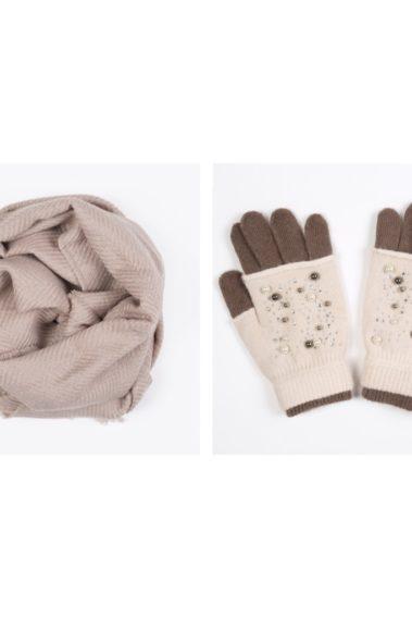 Coffret écharpe gants