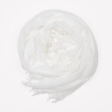 Foulard blanc