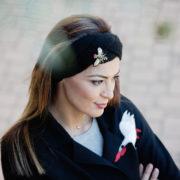 headband noir