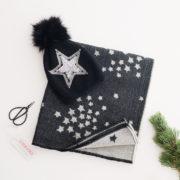 écharpe étoile