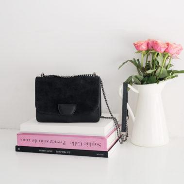 Petit sac à main noir