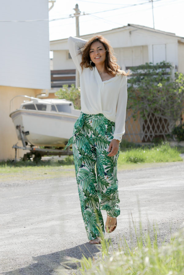 pantalon tropical