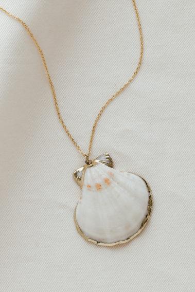 collier coquillage