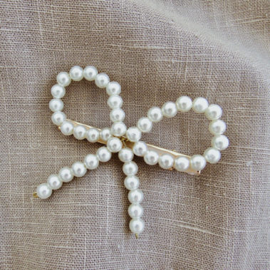 barrette à perles Lise