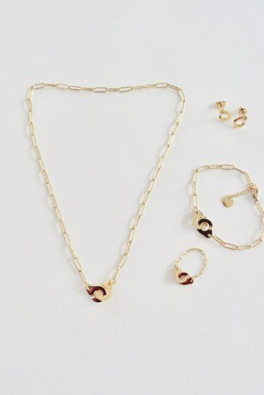 bijoux menottes doré