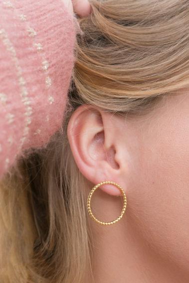 Boucle d'oreille cercle