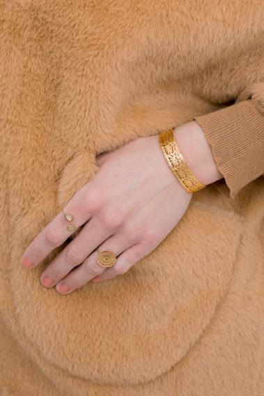 Bijoux acier inoxydable doré